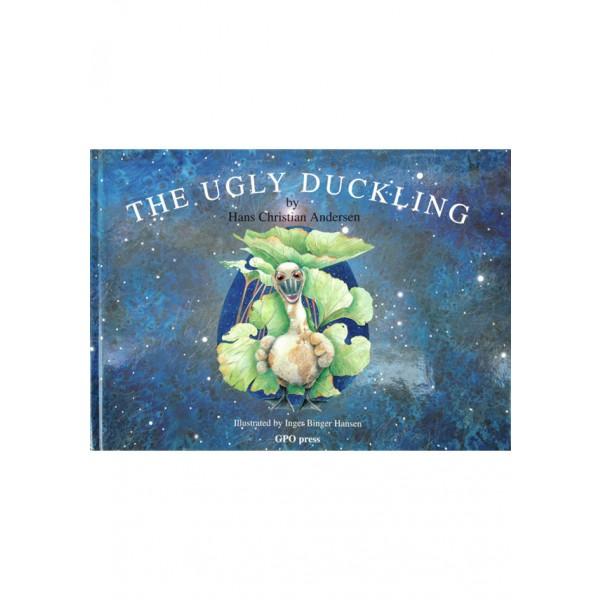 Den grimme ælling på engelsk, The Ugly Duckling. Skrevet af Hans Christian Andersen. ISBN: 87-91659-01-9